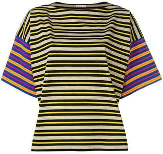 Marni crewneck stripe T-shirt