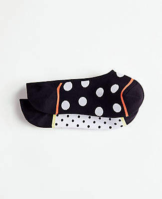 Ann Taylor Dot No Show Socks