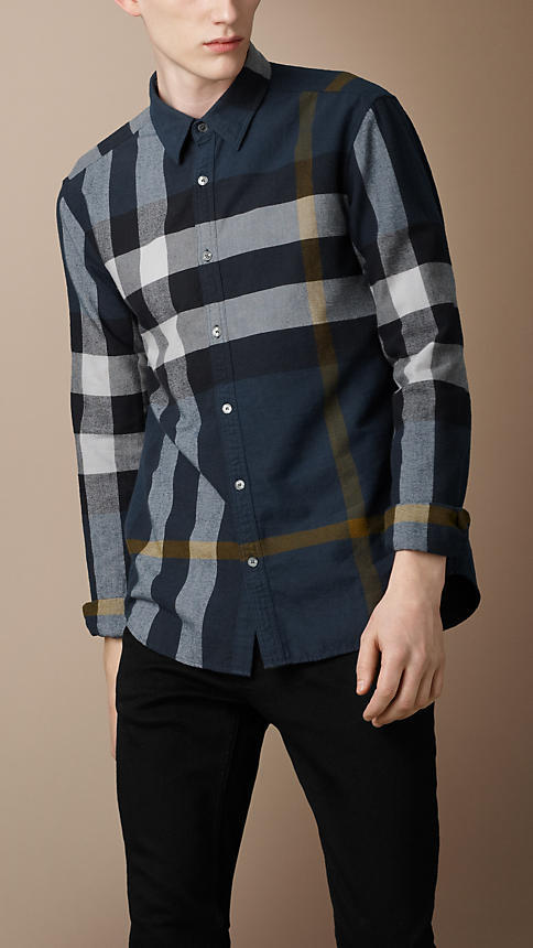 Burberry Check Flannel Shirt