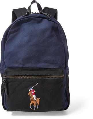 Ralph Lauren Canvas Big Pony Backpack