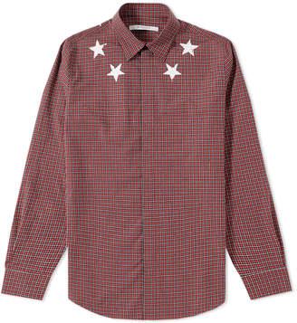 Givenchy Star Check Shirt