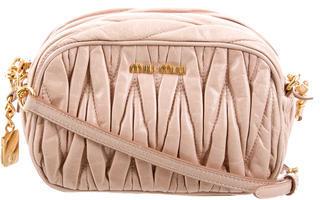 Miu MiuMiu Miu Mini Matelassé Crossbody Bag