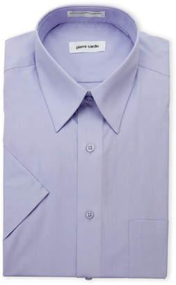 Pierre Cardin Violet Short Sleeve Dress Shirt