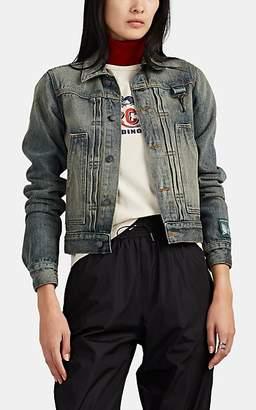 Reese Cooper Women's Denim Trucker Jacket - Blue