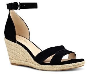 Women's Nine West Jabrina Wedge Sandal $79.95 thestylecure.com
