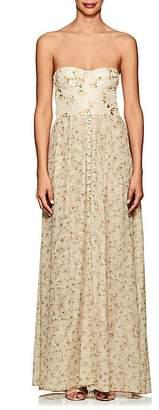 Brock Collection Women's Dallas Taffeta & Tulle Maxi Dress