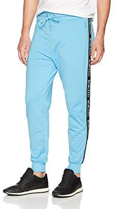 GUESS Men's Keith MCM Taped Jogger