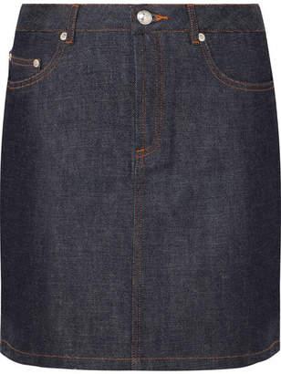 A.P.C. Standard Denim Mini Skirt - Dark denim