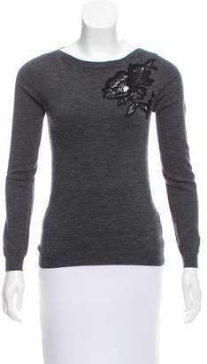 Lanvin Floral Wool Sweater