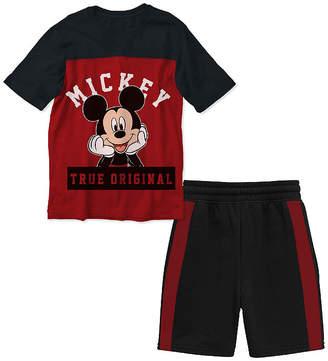 DISNEY MICKEY MOUSE Disney 2-pc. Mickey Mouse Short Set Toddler Boys