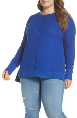 Gibson Side Slit Sweater Knit Tunic