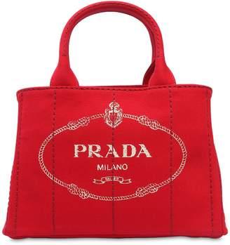 Prada Small Gardener's Cotton Canvas Bag