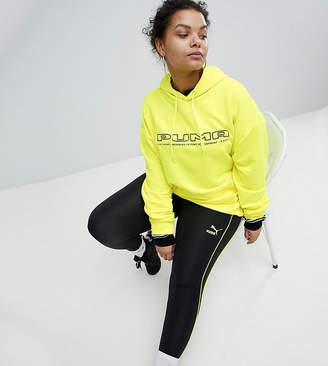Puma Exclusive To ASOS Plus Stirrup Legging With Neon Piping