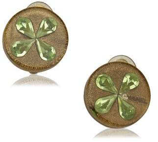 Chanel Vintage Floral Clip-On Earrings