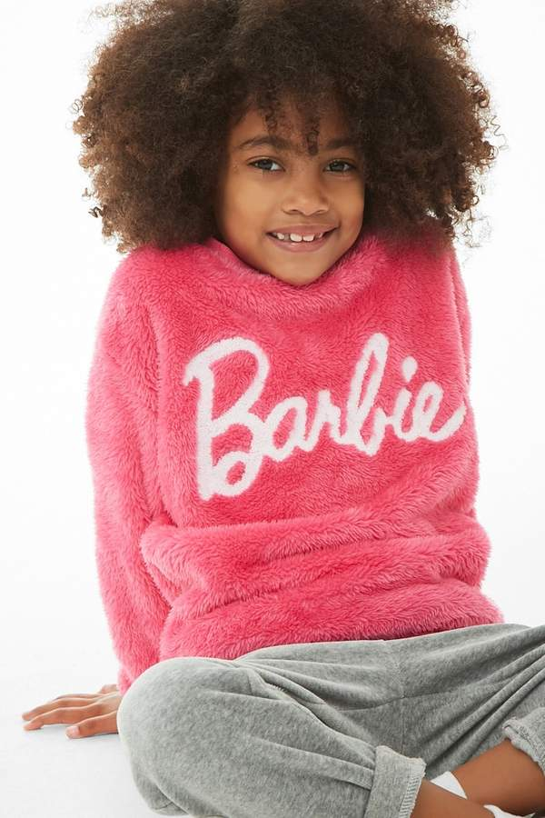 Forever 21 Girls Plush Barbie Sweater (Kids)