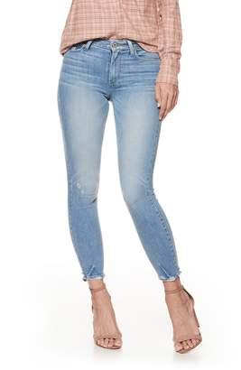 Paige Hoxton Transcend Vintage High Waist Crop Skinny Jeans