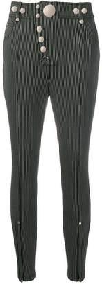 Alexander Wang striped skinny trousers