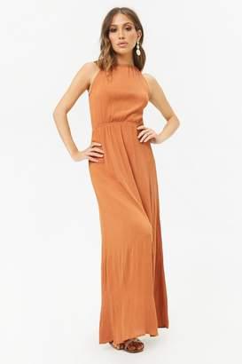 Forever 21 High-Neck Maxi Dress