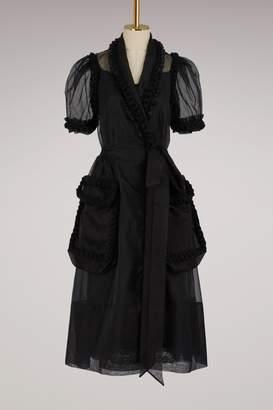 Simone Rocha Silk Wrap Dress