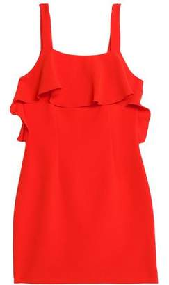 Rachel Zoe Weyford Ruffled Crepe Mini Dress