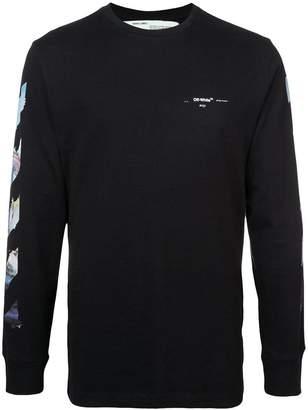 Off-White Black Diag Arrow L/S T-shirt