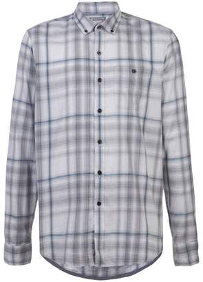 Michael Bastian plaid button down shirt