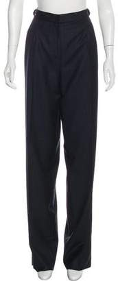 Gianfranco Ferre Wool High-Rise Pants w/ Tags