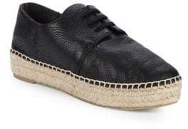 Vince Cynthia Lace-Up Leather Espadrilles