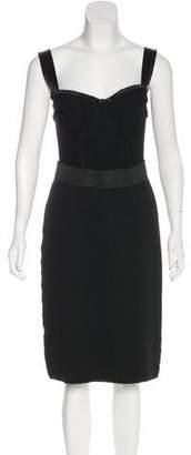 Dolce & Gabbana Knit Bodycon Dress