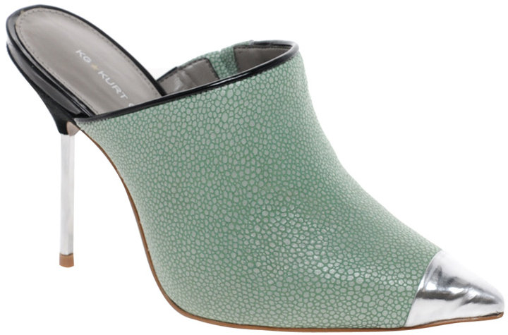 KG Enigma Pointed Mules