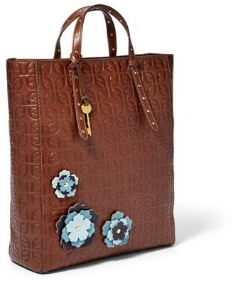 Fossil Camilla Convertible Backpack Handbags Brown Multi
