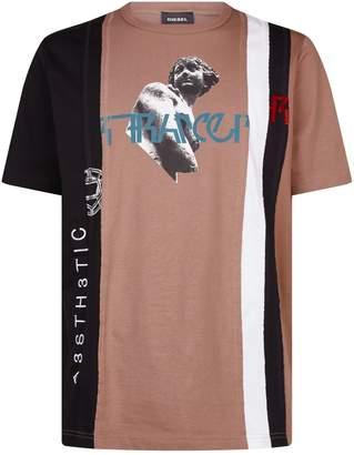 Diesel Graphic Statue T-Shirt