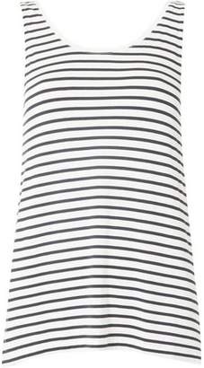 Dorothy Perkins Womens **Vila Navy and White Striped Tank Top