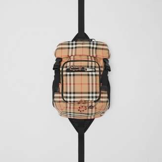Burberry Vintage Check Nylon Leo Belt Pack