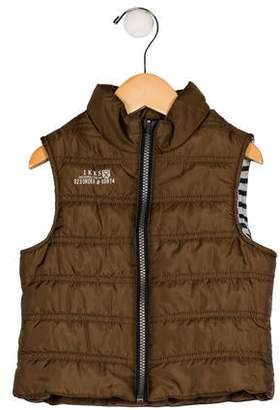Ikks Boys' Down Zip-Up Vest