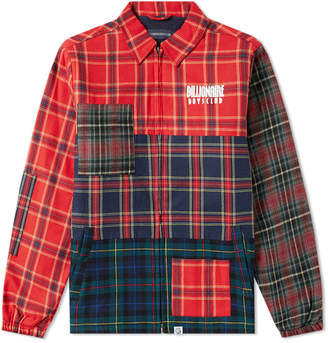 Billionaire Boys Club Multi Check Zip Jacket