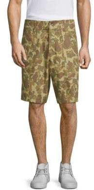 Rag & Bone Field Camo-Print Shorts