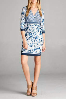 Tua Faux Wrap Dress