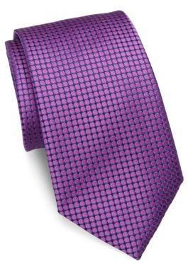 CharvetCharvet Small Pattern Silk Tie