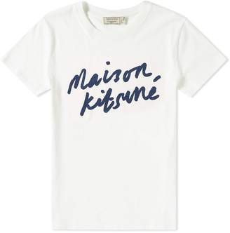 MAISON KITSUNÉ Handwriting Tee