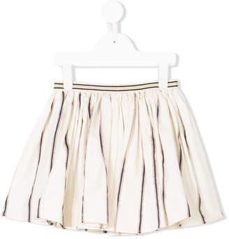Maan striped mini skirt