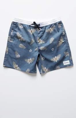 rhythm Garden Jam Drawstring Shorts