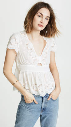 Free People Truly Yours Top