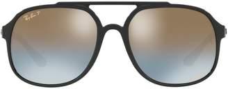 Ray-Ban Chromance Pilot Sunglasses