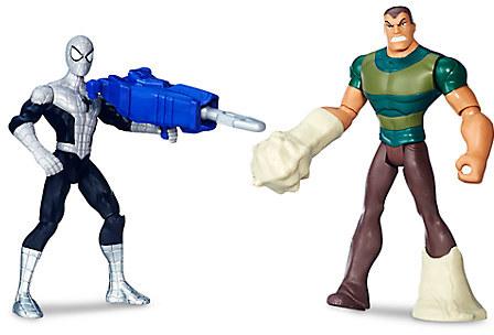 Spider-Man vs. Marvel's Sandman Action Figure Set - Ultimate Spider-Man vs. The Sinister Six - 6''