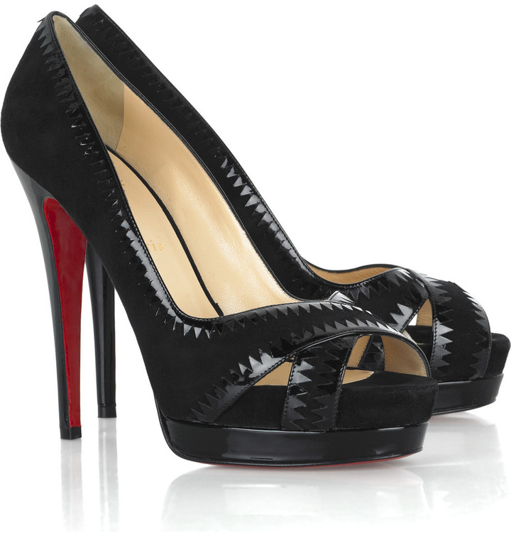 Christian Louboutin Very Jaws 140 pumps