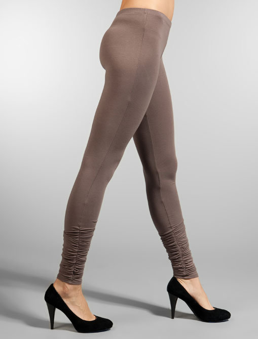 Splendid Modal Lycra Scrunched Leggings