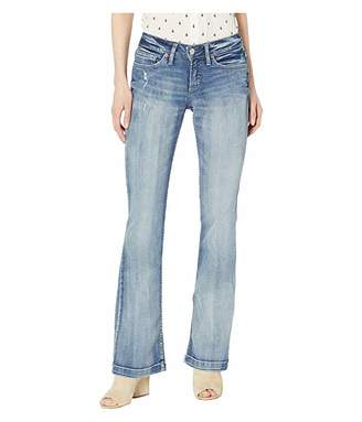 Silver Jeans Co. Suki Mid-Rise Curvy Fit Bootcut Jeans in Indigo L93719ASC233
