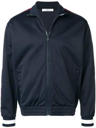 Bally logo band zipped jacket