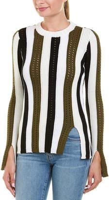 Derek Lam 10 Crosby Pointelle Sweater